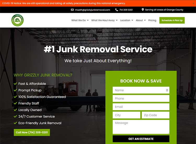 Grizzly Junk Removal Image